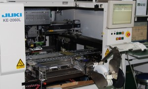Juki automated place machine 300x181 Our Facilities
